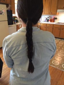 This is the braid I frequently wear.